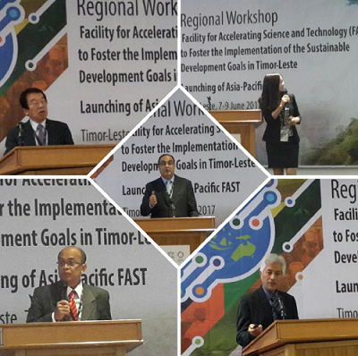 Regional Workshop on Accelerating Science and Technology to Foster the Implementation of the Sustainable Development Goals in Asia and the Pacific